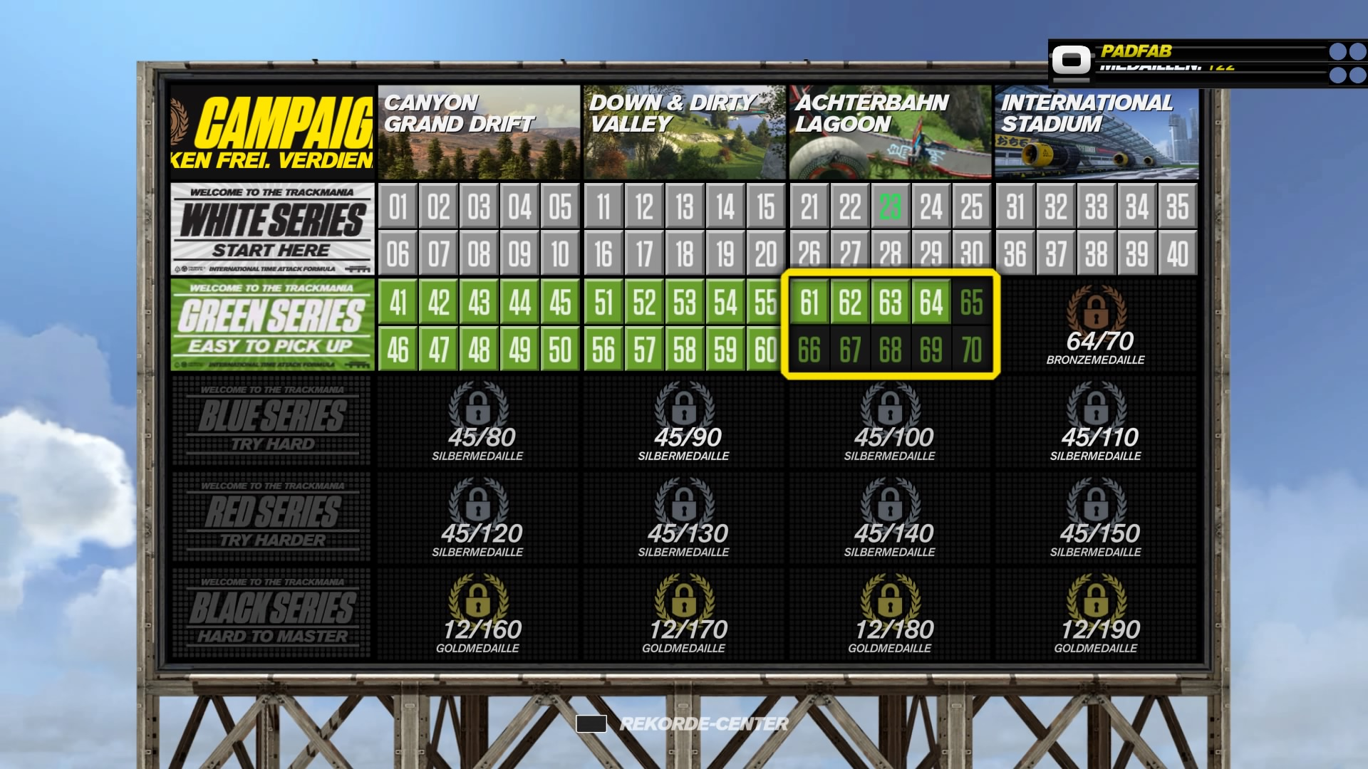 trackmania turbo strecken