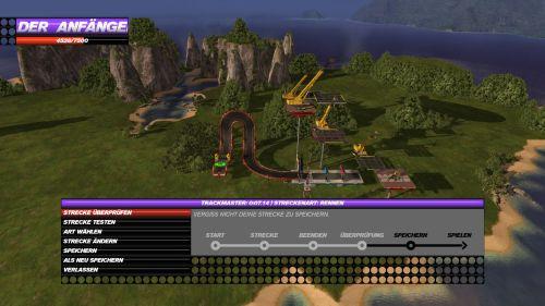 Die Anfänge im Trackbuilder