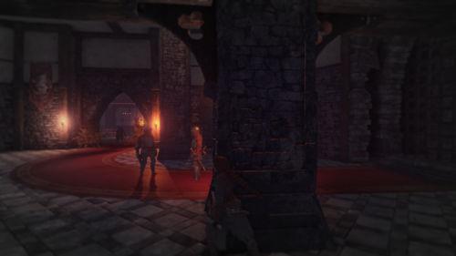 Vorsicht! - Wer unentdeckt bleiben will muss die Wachen stets im Auge behalten.