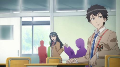 Besonders nett ist, dass selbst die gelegentlichen Animesequenzen die knallbunten