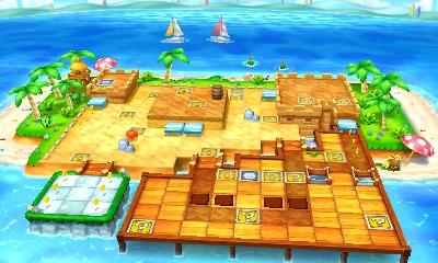 So toll sehen die Spielbretter in Mario Party: Star Rush aus.