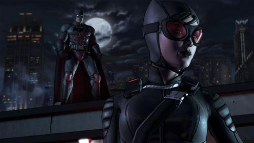 Auch mit dabei von der Partie - Selina Kyle, aka Catwoman.