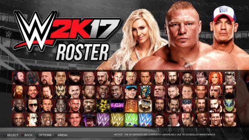 So riesig ist der Roster an spielbaren Charakteren in WWE 2K17.