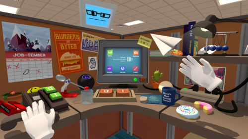 Die PS Move Controller dienen als Hände in der VR.