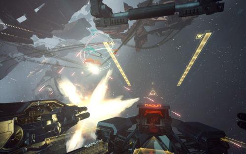 EVE: Valkyrie ist das Spiel mit der höchsten Immersion und demzufolge auch das mit dem höchsten Übelkeitspotential.