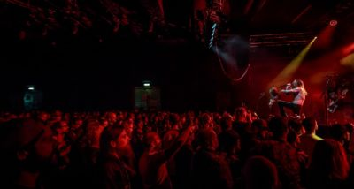 Kvelertak Live Arena Wien 2016 (c) Mario Baumgartner