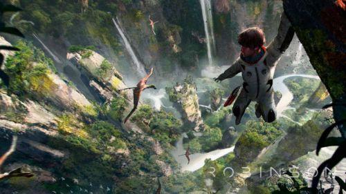 In schwindelnden Höhen kann einem schon mal übel werden. Schließlich sehen wir mittels VR-Brille das Spiel aus der Sicht von Robin.
