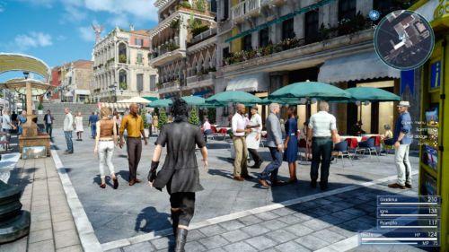 Selten hat die Welt eines Rollenspiels so überzeugend und einladend gewirkt wie in Final Fantasy XV.