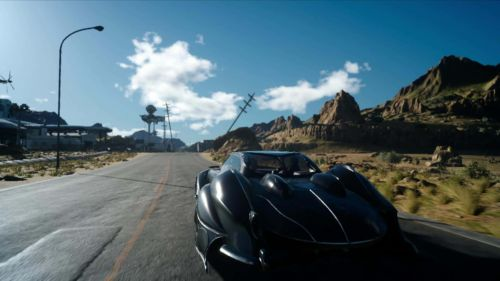 Road Trip: Autofahren und Musik hören wir schnell zur schönsten Nebenbeschäftigung von Final Fantasy XV.