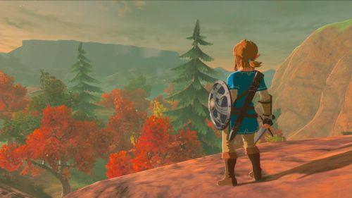 So schön ist das neue Legend of Zelda auf der Nintendo Switch. Die Atmosphäre ist beeindruckend.