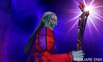 Dhoulmagus erinnert etwas an Kefka, den größten Final Fantasy-Schurken aller Zeiten aus FF6.