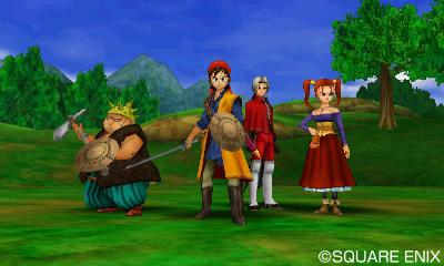 Mit dieser tapferen Truppe meistert man den größten Teil des Games.