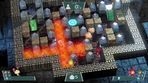 Bomberman ist zurück: Auch der jüngste Teil der Reihe ist ein echter Knaller.
